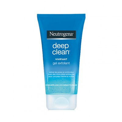 NEUTROGENA DEEP CLEAN GEL EXFOLIANT VIVIFIANT