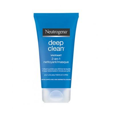 NEUTROGENA DEEP CLEAN masque nettoyant 2-en-1