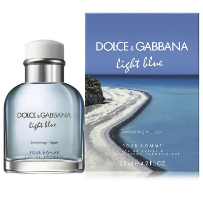 D&G LIGHT BLUE SWIMMING IN LIPARI