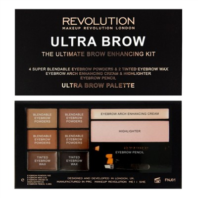 REVOLUTION ULTRA BROW  MEDUIM TO DARK