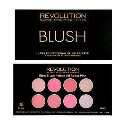 REVOLUTION ULTRA BLUSH PALETTE
